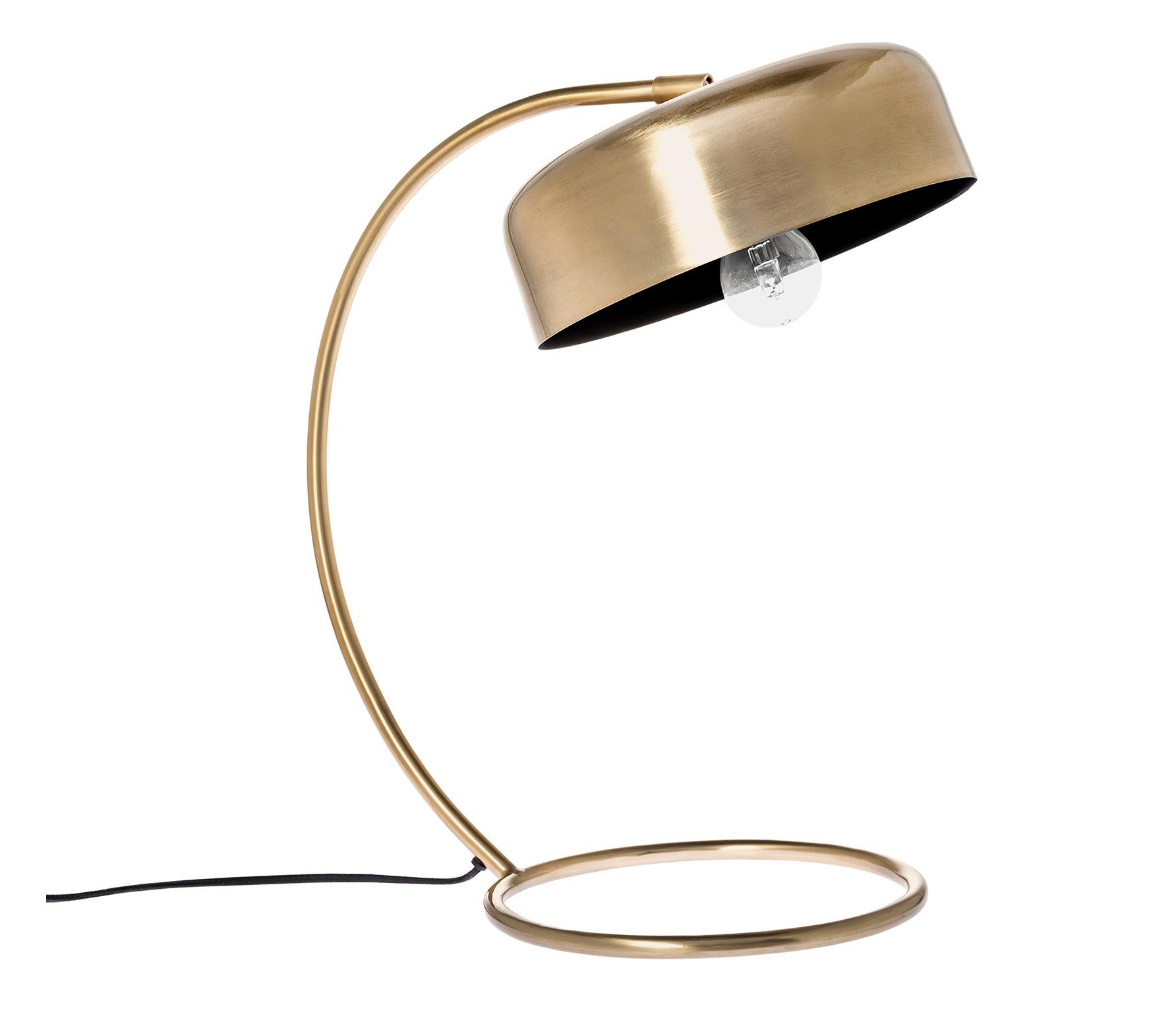 Riverdale Bryce tafellamp 46 cm staal goud