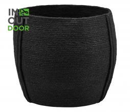 Afbeelding van product: Housedoctor Drum mand M jute zwart