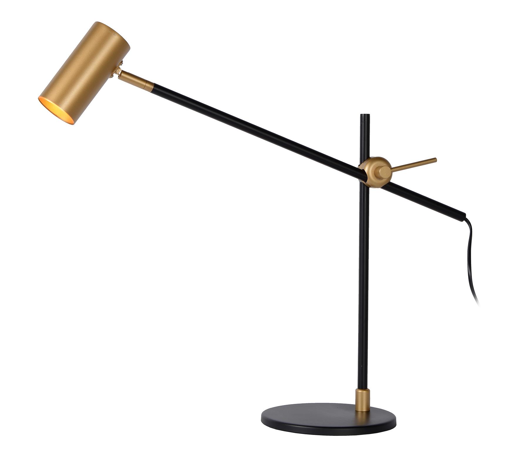 Philine bureaulamp metaal zwart