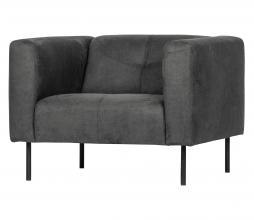 Afbeelding van product: vtwonen Skin fauteuil donkergrijs