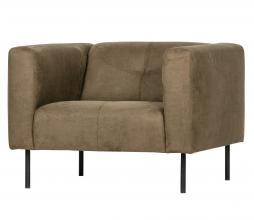 Afbeelding van product: vtwonen Skin fauteuil olijfgroen