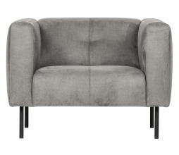 Afbeelding van product: vtwonen Skin fauteuil lichtgrijs