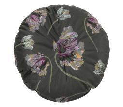 Afbeelding van product: BePureHome Vogue Rococo kussen ø45 cm aloë donkergroen