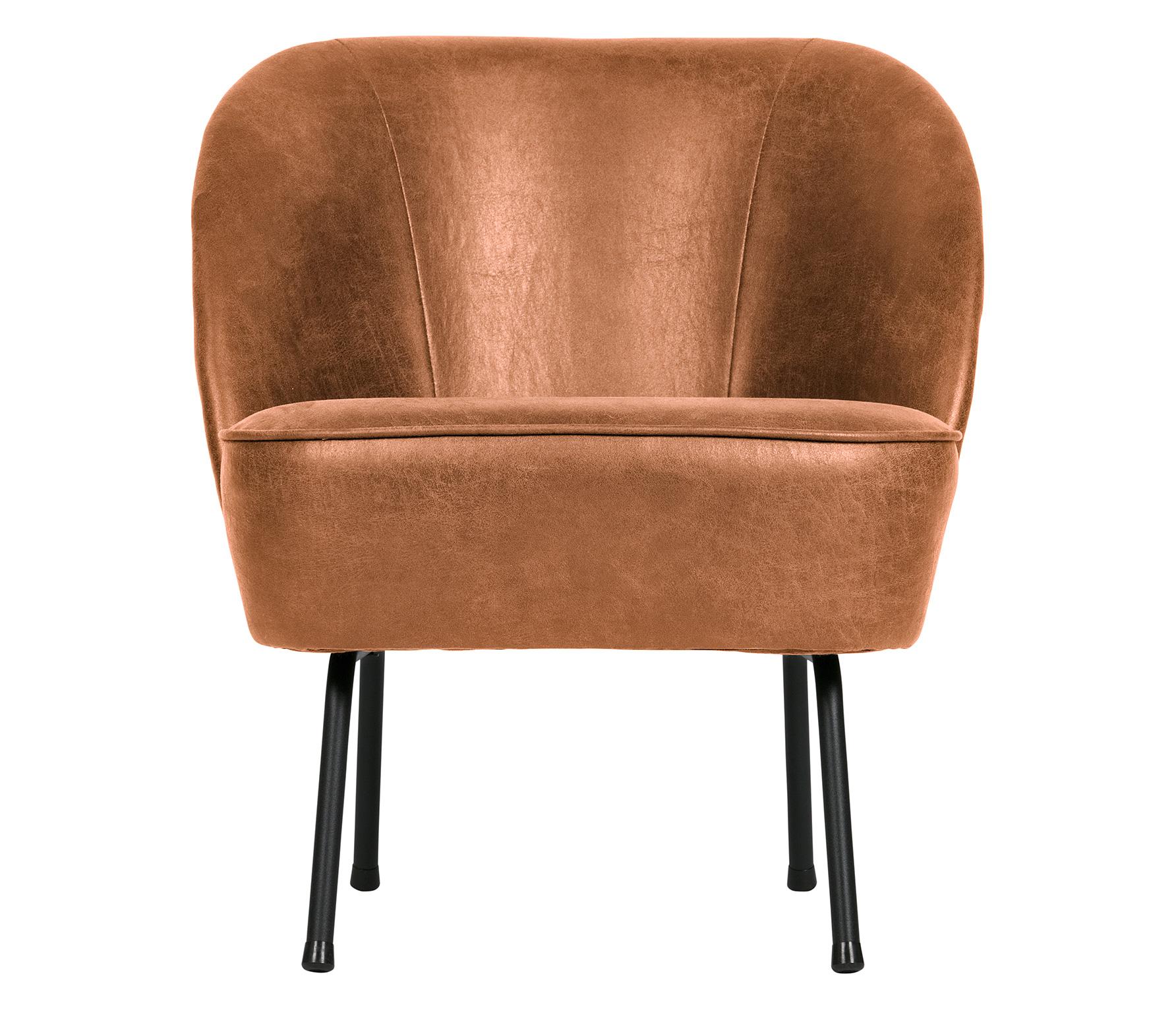 BePureHome Vogue fauteuil recycle leer cognac