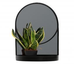 Afbeelding van product: WOOOD Malik spiegel metaal zwart