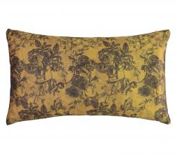 Afbeelding van product: Essenza Vivienne sierkussen velvet 30x50 cm oker