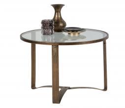 Afbeelding van product: BePureHome Occasional bijzettafel metaal glas antique brass