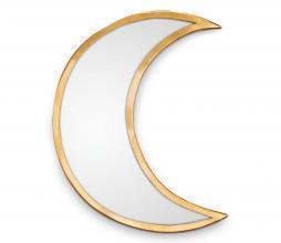 Afbeelding van product: vtwonen Spiegel Moon 30 cm goud metaal