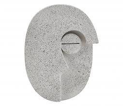 Afbeelding van product: House Doctor Face wand deco cement h14 cm grijs