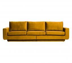 Afbeelding van product: BePureHome Fame 3-zits bank velvet oker
