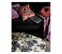 Afbeelding van product: Essenza Vivienne vloerkleed velvet ecru div. afmetingen Ø 90 CM