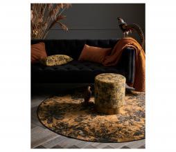 Afbeelding van product: Essenza Vivienne vloerkleed velvet oker Ø 90 CM
