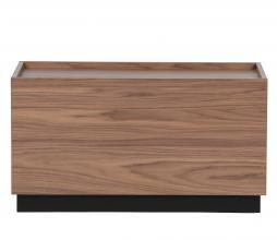 Afbeelding van product: vtwonen Block bijzettafel 40x82 cm grenen walnoot