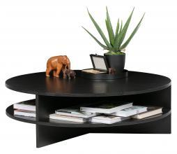 Afbeelding van product: WOOOD Exclusive Trian salontafel essenhout zwart