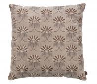 BePureHome Vintage floral kussen 48x48 cm velvet khaki