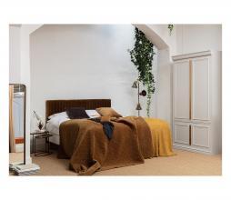 Afbeelding van product: BePureHome Geometric - sprei 220x220 cm velvet honinggeel
