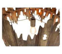 Afbeelding van product: BePureHome Crown hanglamp metaal antique brass