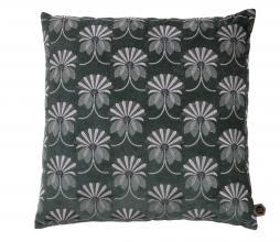 Afbeelding van product: BePureHome Vintage floral kussen 48x48 cm velvet steel