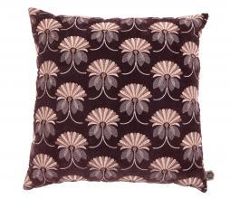 Afbeelding van product: BePureHome Vintage floral kussen 48x48 cm velvet burgundy