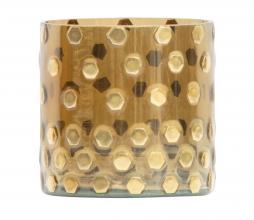 Afbeelding van product: BePureHome Shimmer glazen licht diverse afmetingen antique brass Ø10cm
