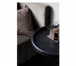 Afbeelding van product: House Doctor Tray wandtafel ø50 cm mangohout zwart