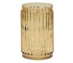 Afbeelding van product: BePureHome Ridges vaas glas geel