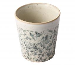 Afbeelding van product: HKLiving Hail mok keramiek off-white/groen