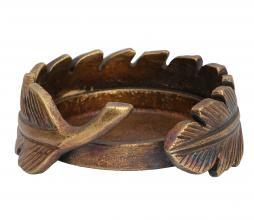 Afbeelding van product: BePureHome Clasp kaarsenhouder Ø12cm metaal brons
