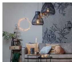 Afbeelding van product: Flah lamp LED kunststof zwart