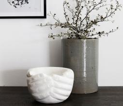 Afbeelding van product: House Doctor Hands schaal marmer ø15 cm wit