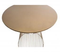 Afbeelding van product: WOOOD Suus bijzettafel Ø35 cm metaal goud