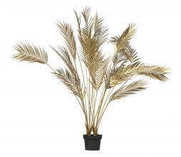 Afbeelding van product: WOOOD Palm kunstplant 110 cm goud