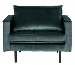 Afbeelding van product: BePureHome Rodeo 1,5 zits fauteuil velvet teal
