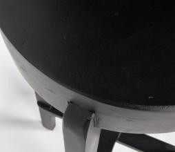 Afbeelding van product: WOOOD Inca houten barkruk zwart