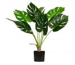 Afbeelding van product: WOOOD Monstera kunstplant 70 cm groen