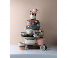 Afbeelding van product: HKLiving 70's schaaltjes set van 4 keramiek multicolor