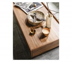 Afbeelding van product: vtwonen Block salontafel 135x60 cm grenen walnoot