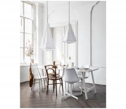Afbeelding van product: vtwonen Flow eetkamerstoel kunststof wit