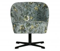 Afbeelding van product: BePureHome Vogue draaifauteuil poppy velvet grijs