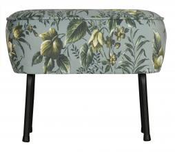 Afbeelding van product: BePureHome Vogue hocker poppy velvet grijs
