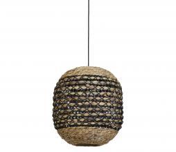 Afbeelding van product: Tripoli hanglamp Ø42 cm rotan naturel/zwart