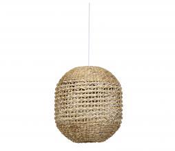 Afbeelding van product: Tripoli hanglamp Ø42 cm rotan naturel/wit
