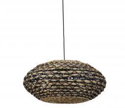 Afbeelding van product: Tripoli hanglamp Ø60 cm rotan naturel/zwart