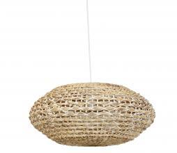 Afbeelding van product: Tripoli hanglamp Ø60 cm rotan naturel/wit