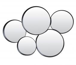 Afbeelding van product: Sianna spiegel metaal mat zwart