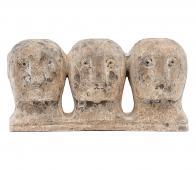 House Doctor Ancient sculptuur aardewerk grijs/bruin