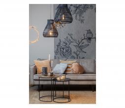 Afbeelding van product: Timaka hanglamp rotan Ø37 cm zwart