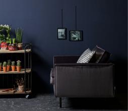 Afbeelding van product: BePureHome Rodeo 1,5-zits fauteuil velvet donkergrijs