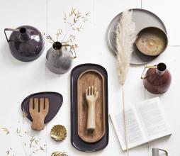 Afbeelding van product: vtwonen metalen dienblad tray h25 cm warm bruin