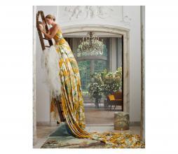 Afbeelding van product: Essenza Rosalee dekbedovertrek div. afmetingen katoen mosterd 140x220 cm